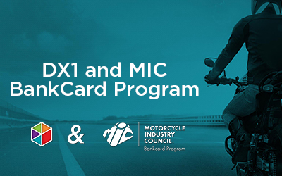 DX1 & MIC offer EMV technology for Powersports