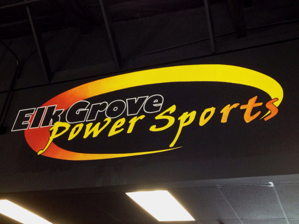 Elk Grove Power Sports Sign