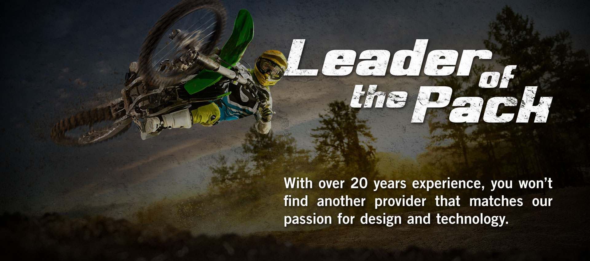 Leader of the Pack - DX1 has over 20 years experience in the Powersports industry